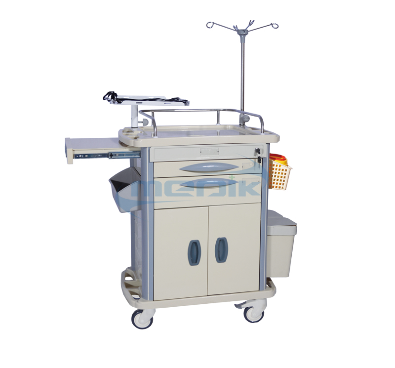 MK-P03 Medical Resuscitation Trolley