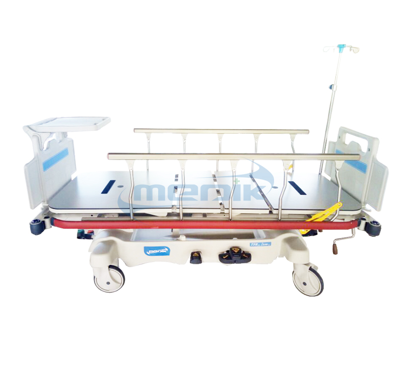 YA-PS01B Luxurious Hydaulic Patient Transfer Stretcher With Head/Foot Board