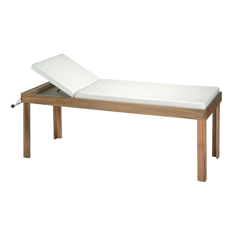 YA-EC-W02 Medical Patient Examination Couch Wooden Frame