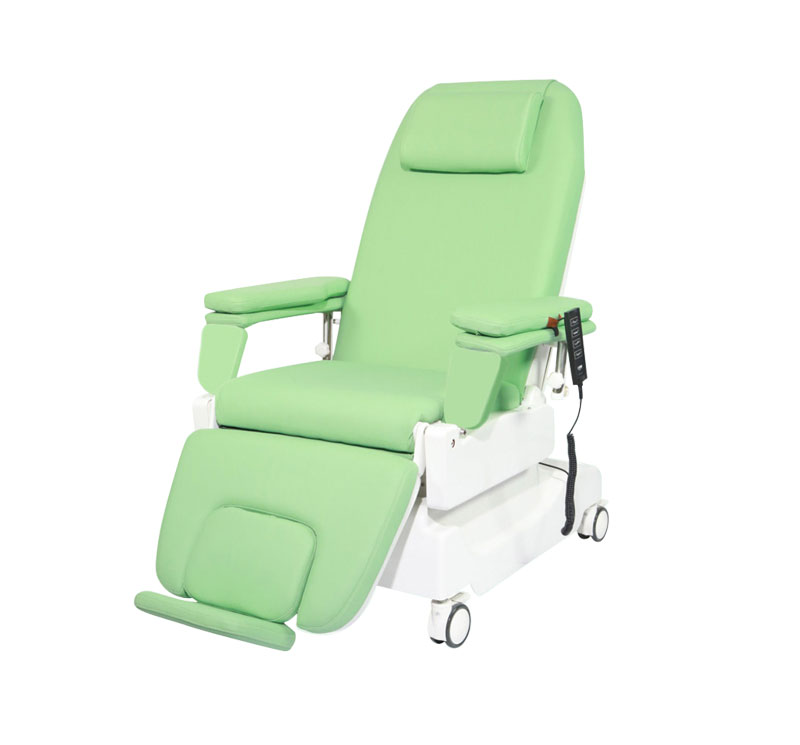 YA-DS-D04 Electric Blood Drawing Chair With Weighing Scale