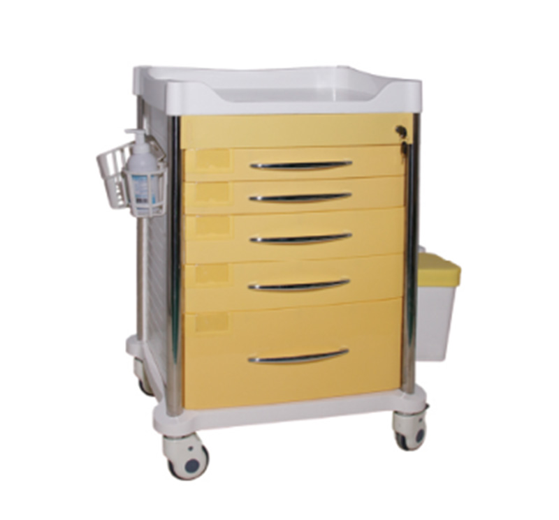 Plastic Medical Drug Cart For Hospital MK-P13