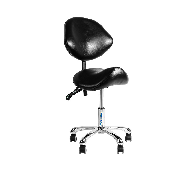 Tabouret assise selle hauteur variable YA-S06