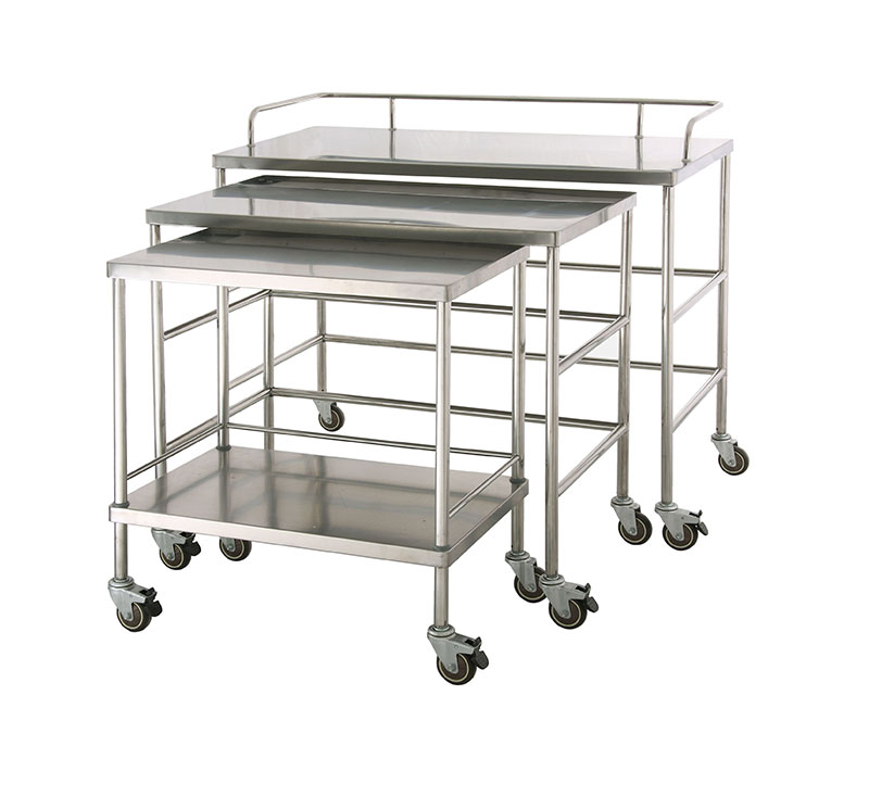 MK-S01 SS304 Surgical Instrument trolley