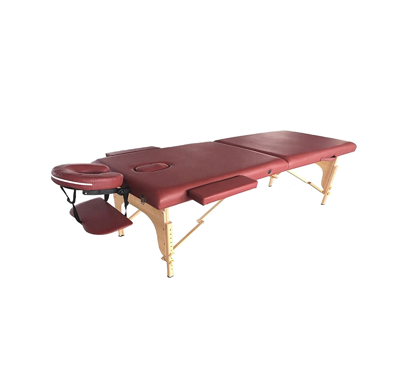 Table de massage pliable 3 pans bois YA-EC-MC02